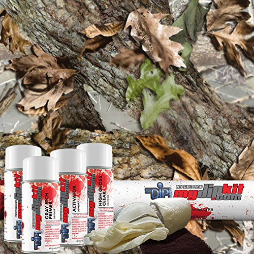 Timber's Edge XD - Hydrographics Film Kit - MyDipKit - RC-442 - Water Transfer Printing