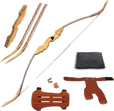Huntingdoor 53inch 35-50lb Traditional Longbow Archery