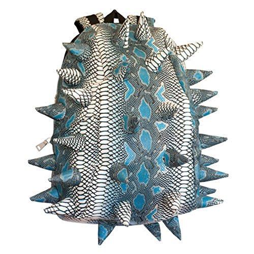 Madpax Spiketus Rex Pactor Achilles Teal Urban Spikes Full School Bag Backpack