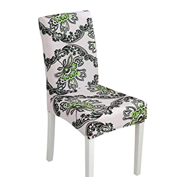 Fashoin Pure Color Spandex Stretch Chair Cover Wedding Banquet Party Decor Dining Room Seat Covers Home & Garden