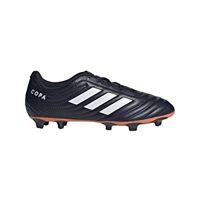 adidas Copa 19.4 Firm Ground Soccer Shoe Legend Ink/White/hi-res Coral 9 M US | Soccer