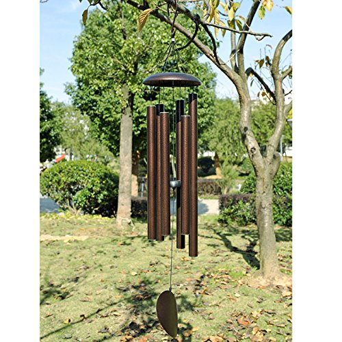 Agirlgle Large Wind Chimes Outdoor 44 inch- Tuned Large Garden Outdoor Windchimes for Patio and Terrace - Best Metal Musical Windchime Outdoor and Home Decoration