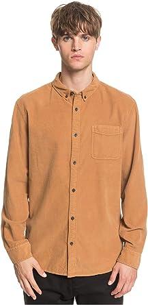Quiksilver Smoke Trail - Camisa de Pana de Manga Larga para Hombre EQYWT03910: Amazon.es: Ropa y accesorios