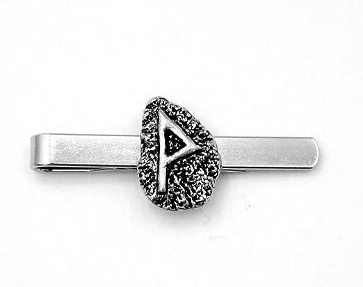 Viking runa de alegría (Wunjo) Clip de corbata (slide), hecho a ...