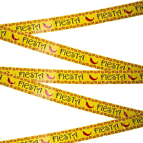 Fiesta Party Tape Party Accessory (1 count) (1/Pkg)