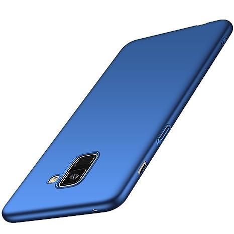 coque samsung a8 2018 bleu
