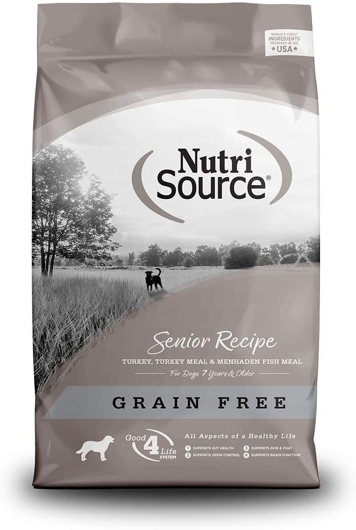 Nutrisource Grain Free ( Turkey ) Senior Dog Food 15Lb