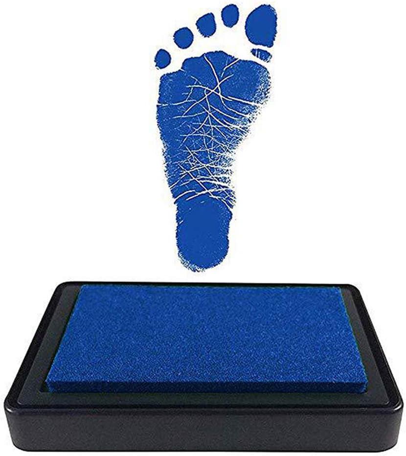 Almohadilla de Tinta para Huellas de pies para beb/é MIBANG reci/én Nacidos sin /ácidos sin ensuciar ni/ños y ni/ñas