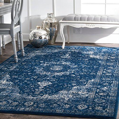 nuLOOM Vintage Persian Verona Area Rug, 8 x 10 , Dark Blue
