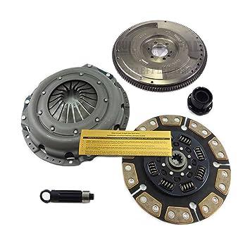 EFT cerámica Kit de embrague + HD volante Silverado sierra C G K R V 6.5L Turbo Diesel: Amazon.es: Coche y moto