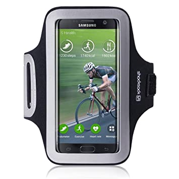 Galaxy S7 Edge Accessoires, Shocksock Brassard Armband Sport pour Samsung Galaxy S7 Edge Coque ,