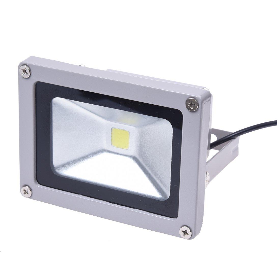SODIAL(R) CAR FOCO PROYECTOR LUZ 10W 12V LED blanco 7000K: Amazon ...