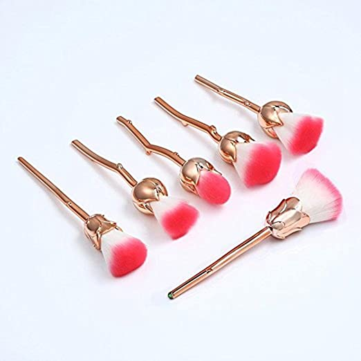 Flower Makeup Brush Set - $2.2...