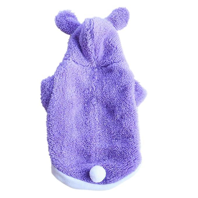 Ropa para Mascotas,Dragon868 Moda Lindo Mascotas Perros Caliente Conejo Abrigos de suéter: Amazon.es: Ropa y accesorios