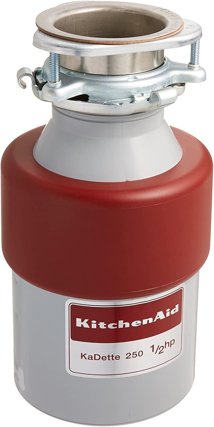 Kitchen Aid KCDB250G 1/2 HP Continuous Feed Garbage Disposal by KitchenAid