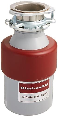 Kitchenaid (84211643) KCDB250G 1/2 HP Continuous-Feed Garbage Disposal