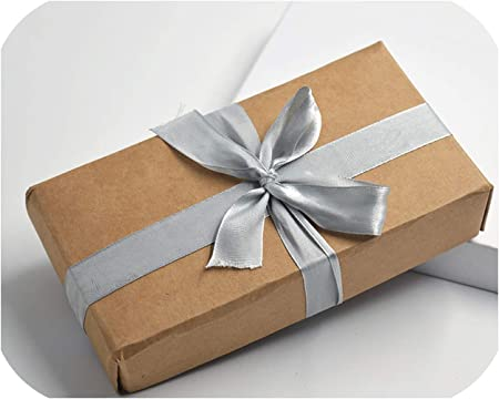Little-hope 10 Cajas de cartón de Papel Kraft, Caja de Regalo Grande, Color Blanco y Negro, Caja de Regalo, Tapa de cartón, Caja de Regalo Grande, Embalaje de cosméticos: Amazon.es: Hogar