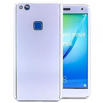 COOVY® Funda para Huawei P10 Lite/Nova Lite 360 Grados, Carcasa Ultrafina y Ligera, con Protector de Pantalla, protección de Cuerpo Completo | Color ...