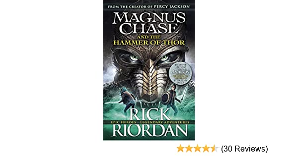 magnus chase and the hammer of thor book 2 riordan rick