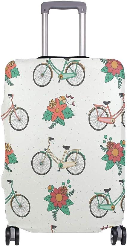 ALINLO - Funda para Maleta de Bicicleta, diseño de Patten Floral ...