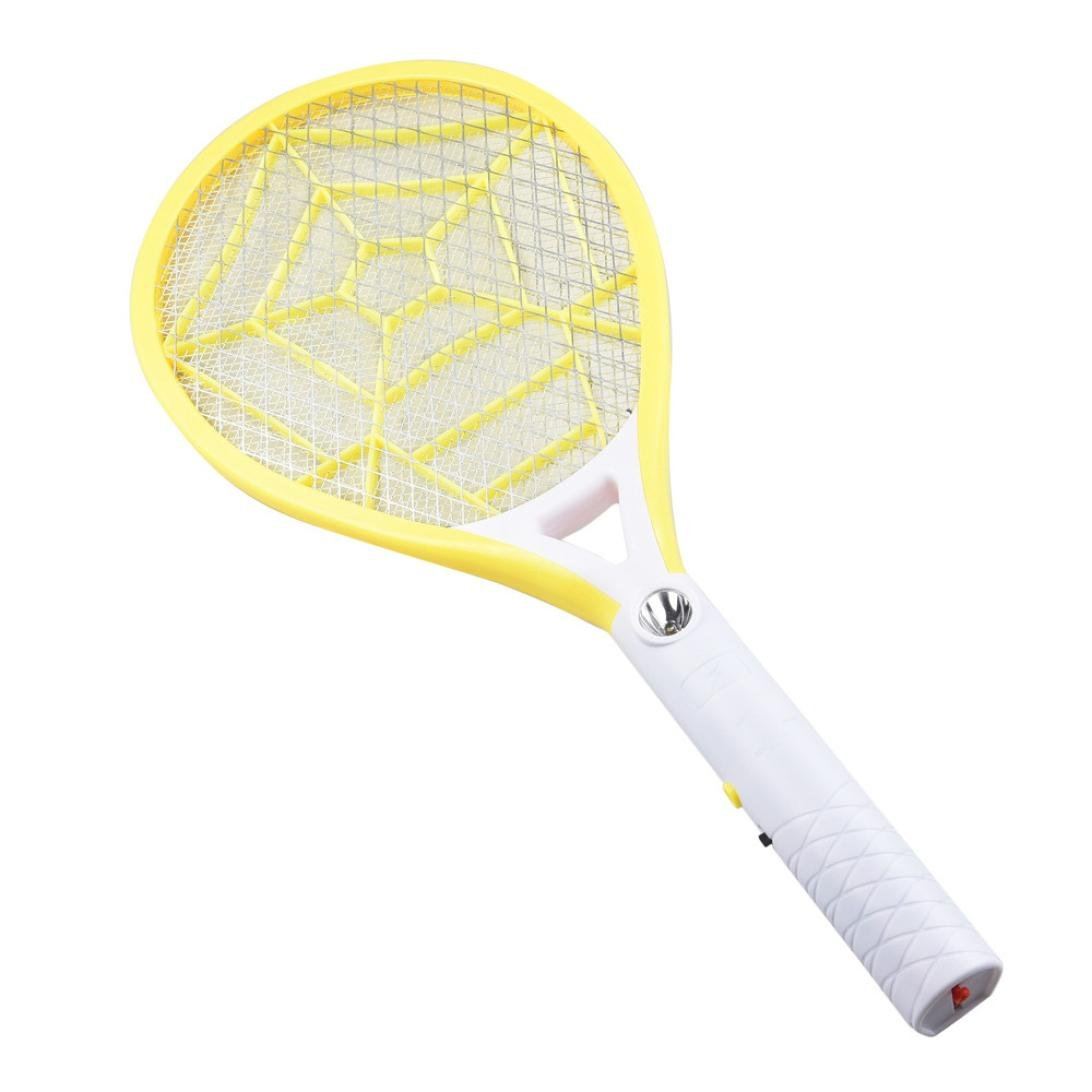 Rechargeable LED Electric Fly Mosquito Swatter Bug Racket