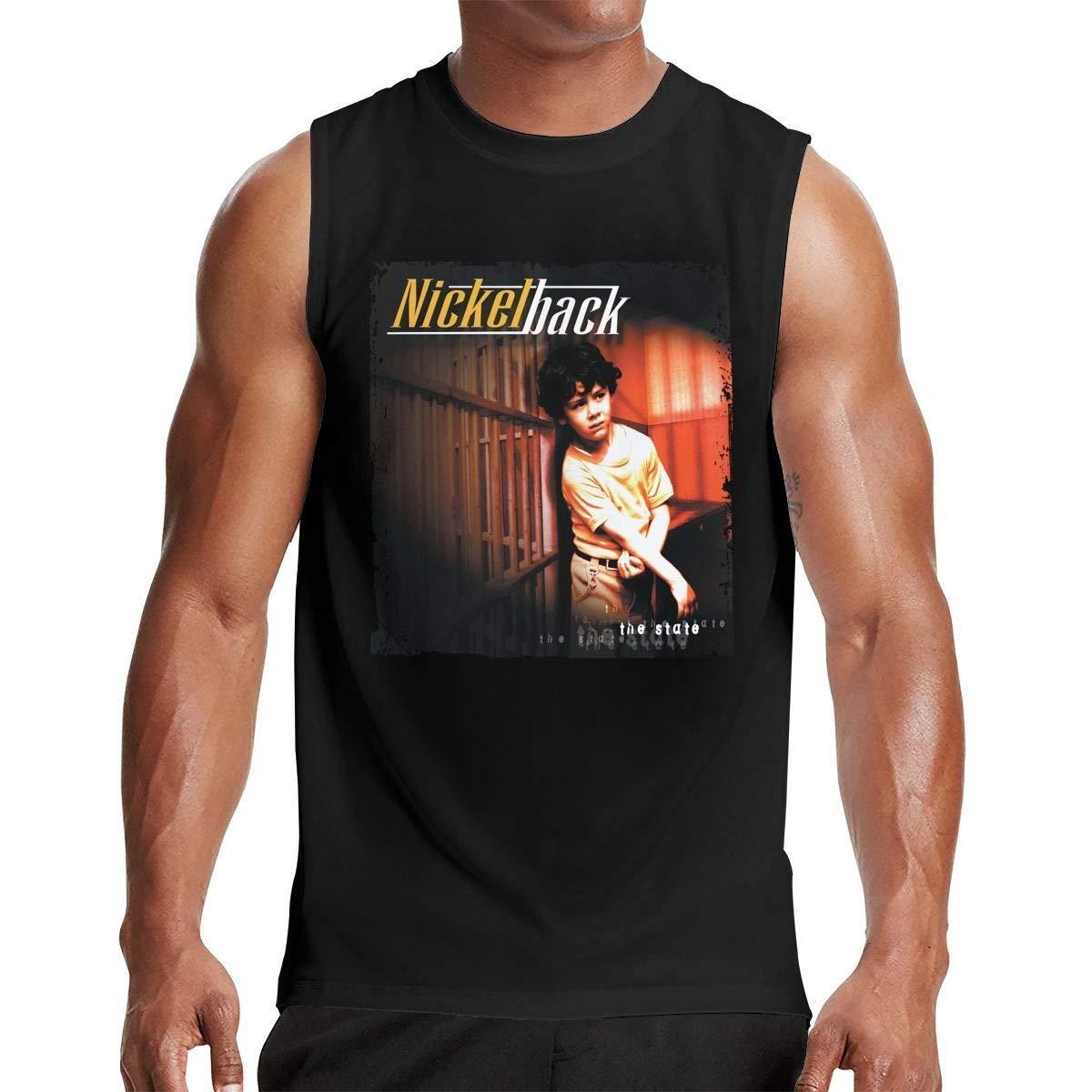 Man S Nickelback The State Classic Design Sleeveless T Shirt
