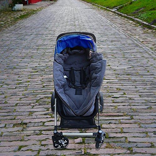 Waterproof Universal Baby Stroller Sleeping Bag Footmuff Sack Grey by Berocia (Baby Stroller Sleeping Bag) - coolthings.us
