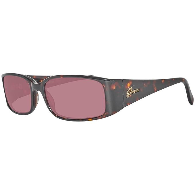 GUESS GU7136-55S44, Gafas de Sol para Mujer, Marrón, 55