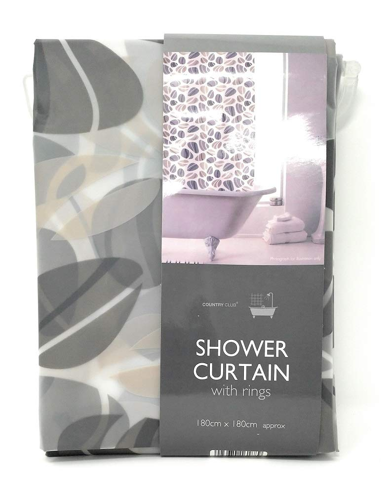 Country Club Shower Curtain Pebbles
