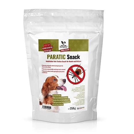 Dogs-Heart Snack antigarrapatas para perros, con aceite de comino negro Repelente natural contra