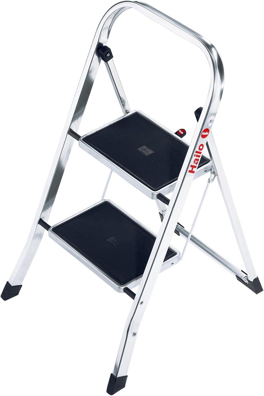 Hailo 4392-801-Mini - Escalera Aluminio: Amazon.es: Hogar