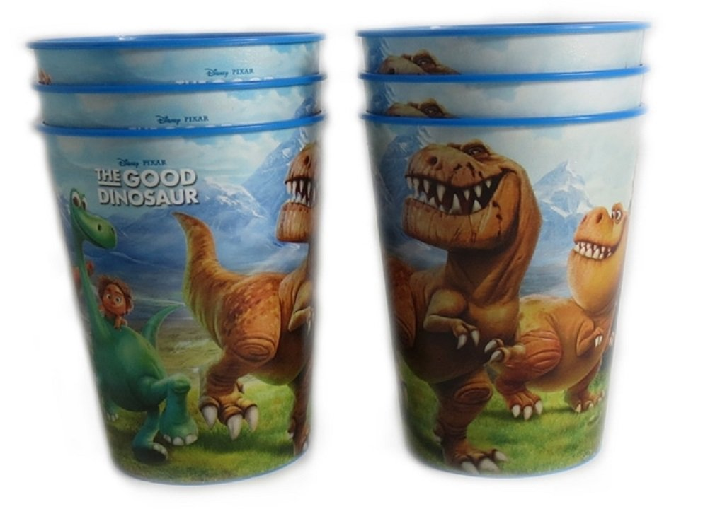 6 Disney Pixar Reusable Treat Favor Party Cups (The Good Dinosaur)