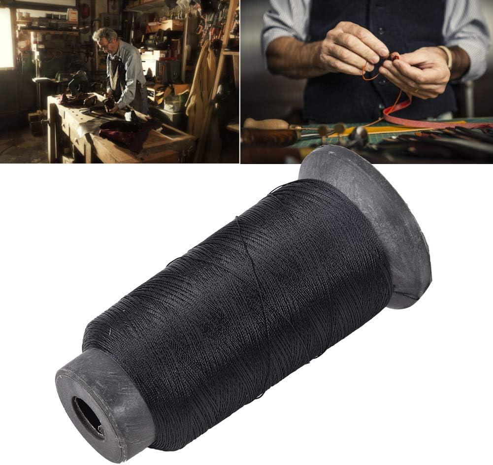 Zwindy Hilo para máquina de reparación de Calzado, Hilo para reparación de Calzado, Máquina de Coser anticorrosión Máquina de Coser de Hilo de acrílico de 3 hebras para Coser a Mano