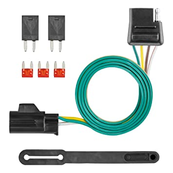 CURT 56012 Vehicle-Side Custom 4-Pin Trailer Wiring Harness for Select on