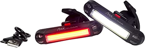 Luz de Bicicleta con LED Potente. Luz Intermitente USB Recargable ...