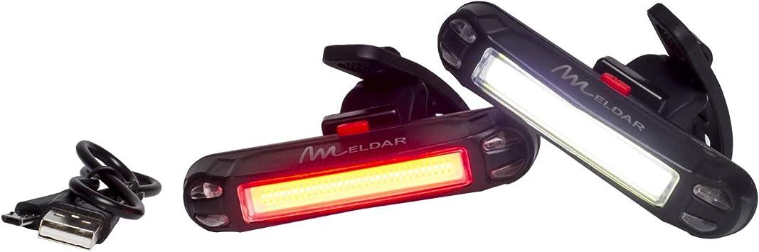 Luz de Bicicleta con LED Potente. Luz Intermitente USB Recargable ...