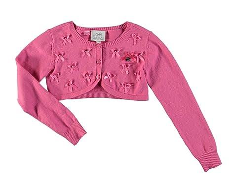 8c078c0172aa1e Le Chic Le Chic Bolero Jacke Cardigan Strickjacke in hot pink Größe ...