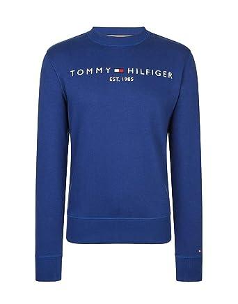 9f5bf48c096a Tommy Hilfiger Herren Sweatshirt Logo  Amazon.de  Bekleidung