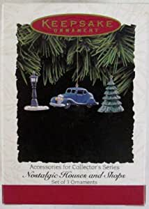 VTG Hallmark Christmas Ornament Keepsake Grocery Store Nostalgic Houses Shop 98