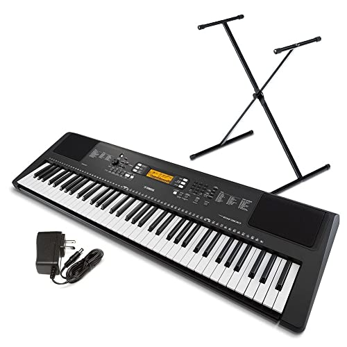 Yamaha PSREW300SA 76-Key Portable Keyboard Bundle