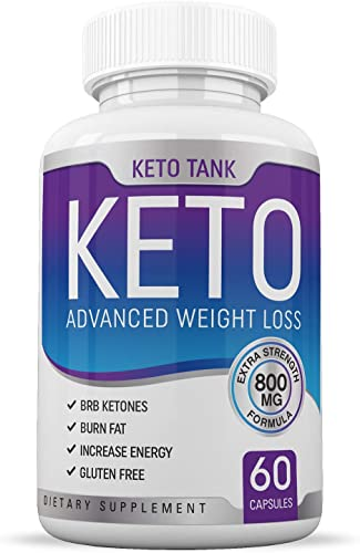Keto Pills – for Women Men – Ketogenic Carb Blocker Fat Burner – Weight Loss Supplement – Keto Tank