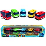 Tayo Little Bus Toy Set - 5 Pieces