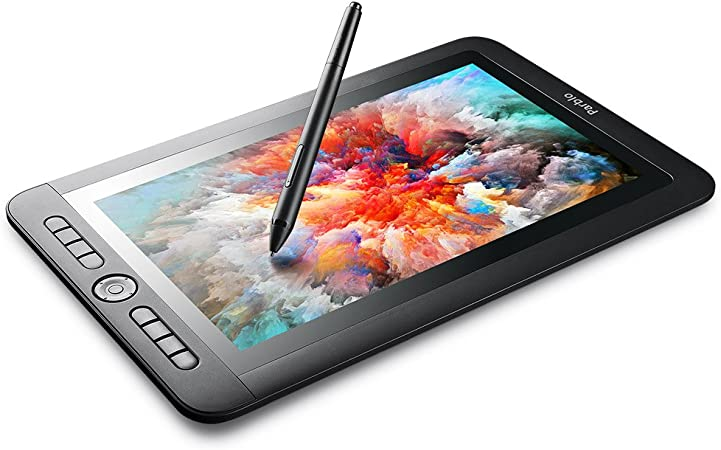 Amazon Com Parblo Coast13 Graphic Tablet Drawing Monitor With 13 3 Inches Lcd 8192 Level Battery Free Pen For Digital Art Sketch Paint Design Drawing Tablet For Windows Mac Osx Computers Computers Accessories