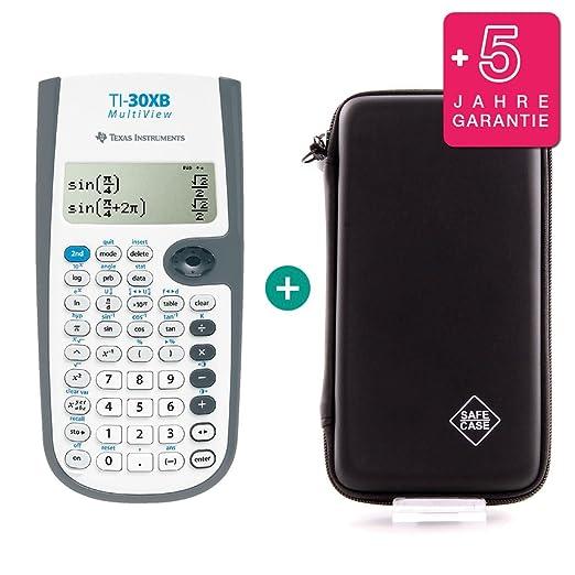 Erweiterte Garantie Texas Instruments TI-30XB MultiView Schutztasche