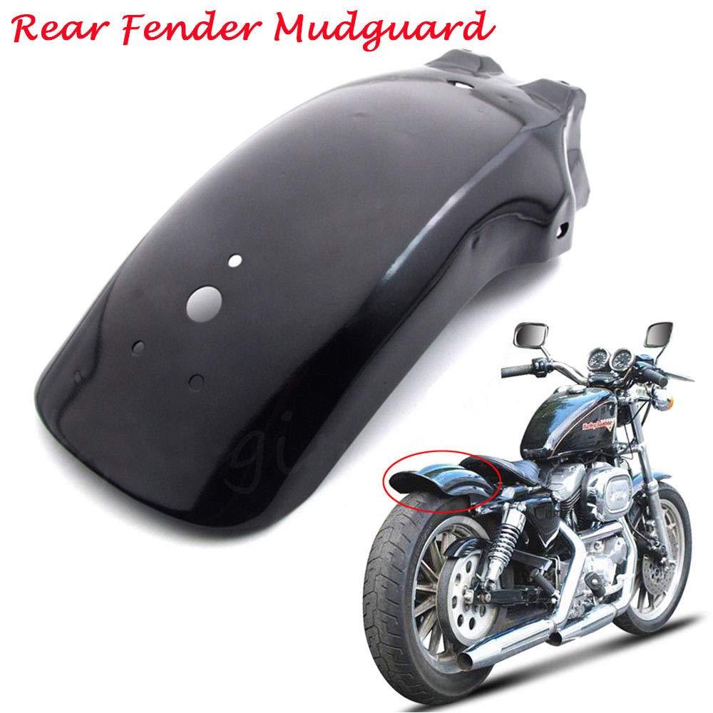 FidgetGear Schutzblech f/ür Cruiser Chopper Bobber Cafe Racer Honda Shadow