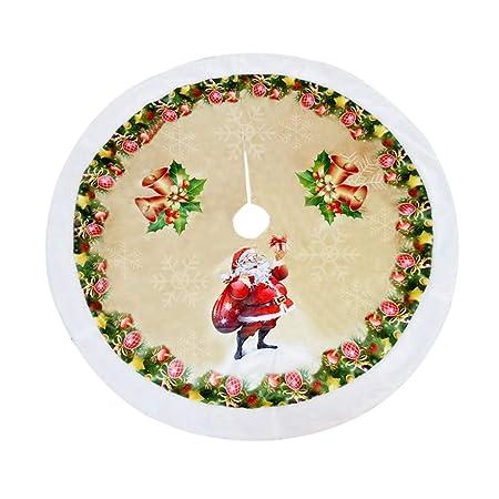 Mars Jun Falda arbol Navidad, 98 cm de Vacaciones Santa Reno ...