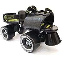 Jaspo Tenacity Adjustable Senior Roller Skates Suitable for Age Group 6 to 14 Years