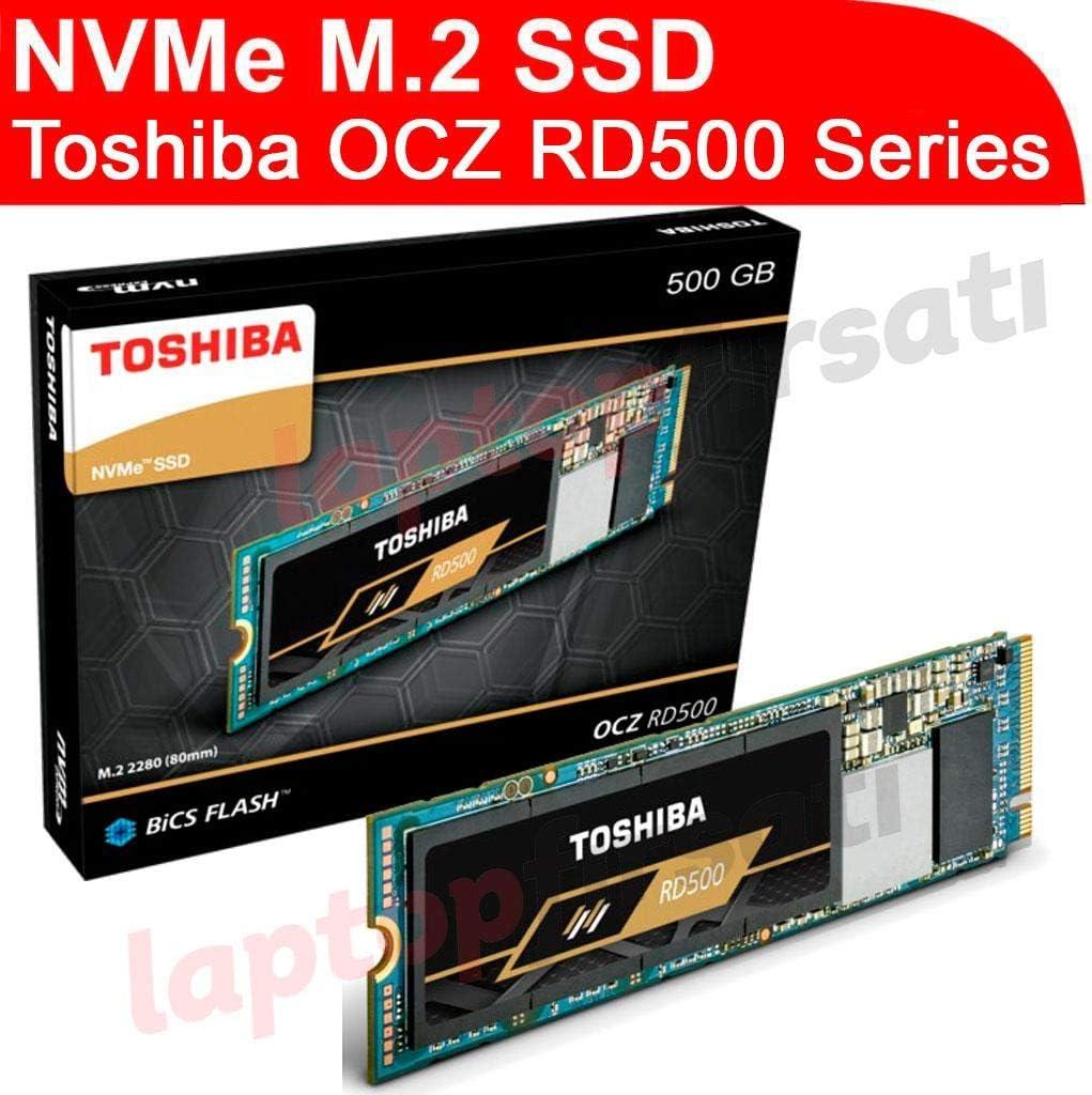 Toshiba RD500 NVMe SSD 500GB M.2 2280 PCIe 3.0 x4: Amazon.es ...