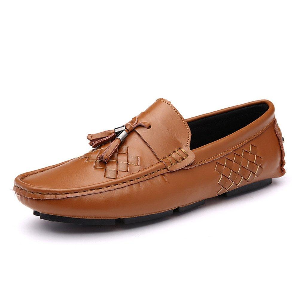 AFCITY Sommer Männer beiläufige Breathable Outdoor Driving : Schuhe Klassischer Stiefelschuh (Farbe : Driving Braun, Größe : 40 2/3 EU) Braun f41411