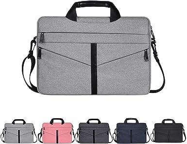 Estuche para computadora portátil, bolso de hombro para computadora portátil, funda multifuncional para notebook, estuche portátil con correa para (13.3-15.6 pulgadas): Amazon.es: Ropa y accesorios